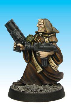 Necromunda Redemptionist - Citadel Miniatures
