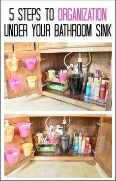 Wonderful -> Bathroom Cabinet Storage Bins #pin