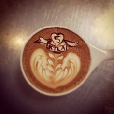 we were totally on tv. Here is a latte to prove it - @portolacoffeelab- #webstagram