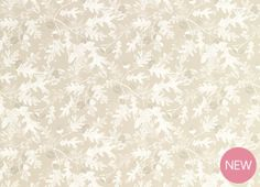 Oakshaw Truffle Floral Wallpaper from laura Ashley