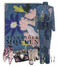 """McQueen"" by jacque-reid ❤ liked on Polyvore featuring Alexander McQueen and AlexanderMcQueen"