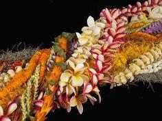Flower Lei, Flower Pots, Exotic Flowers, Beautiful Flowers, Tropical Flowers, Hawaiian Flowers, Hawaiian Leis, Hawaiian Art, Hawaiian Quilts