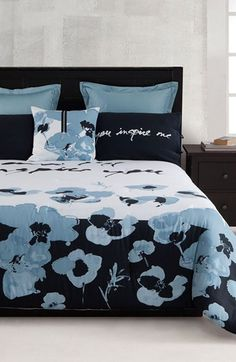 Kensie 'Blue Poppy' Collection | Nordstrom for the guest room. Should go well with the Peter Max.