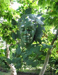 Bronze environmental sculpture by Irish artist Linda Brunker Sculpture Projects, Garden Sculpture, Environmental Sculpture, Botanical Art, Public Art, Irish, Sculptures, Bronze, Steel