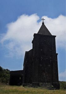 Old Catholic Church built by the French