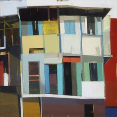 check out the urban cityscapes of painter, Siddharth Parasnis b. 1977 Kolhaphur, India ABOUT . Abstract Landscape, Abstract Art, Sculpture Painting, Knife Painting, Urban Painting, Inspirational Artwork, Architecture Art, Architecture Geometric, Urban Sketching
