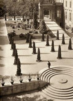 Prague Castle Gardens by Josef Sudek