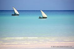 Boats off Medjumbe P