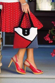 Color Block Bag