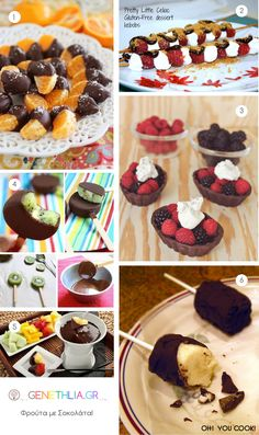 Φρούτα με σοκολάτα: τέλειος συνδυασμός!