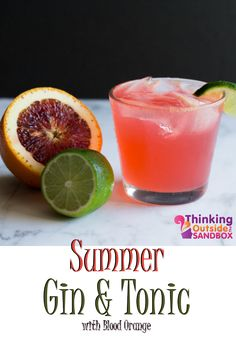 Summer Gin and Tonic Recipe