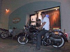 2012年8月17日ご来店  Harley Softail Delux