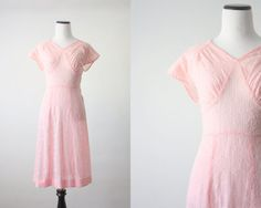 30s dress   1930's embroidered cotton dress by 1919vintage on Etsy, $156.00
