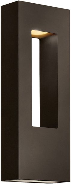 Hinkley Lighting 1648 BZ Atlantis Collection Two Light Exterior Outdoor Wall Lantern in Bronze Finish