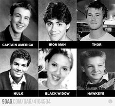 Young Avengers. They look so different! O.O