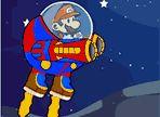 Super Mario, in uno dei suoi viaggi spaziali, è stato attaccato da strani esseri! Prendi in comando della sua navicella ed effettua il contrattacco... Non sarà facile distruggere i nemici!