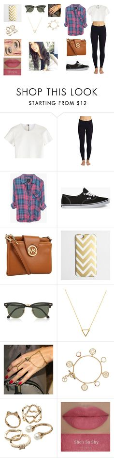 """""""We Lay Under The Same Stars #8"""" by miacollins18 ❤ liked on Polyvore featuring Neil Barrett, Beyond Yoga, Rails, Vans, Michael Kors, J.Crew, Ray-Ban, Wanderlust + Co, Patricia Nicolas and Tory Burch"""