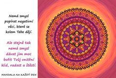 Mandala Vnitřní klid, radost a štěstí