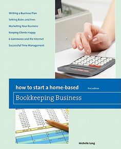 how to start a home-based bookkeeping business michelle long