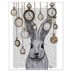 Rabbit Time Print