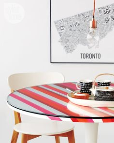 DIY dining table decor featuring #EQ3+ Marimekko tableware | Style at Home magazine (styleathome.com)