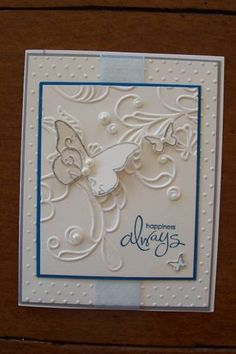 Wedding card by Jill stamps - Cards and Paper Crafts at Splitcoaststampers