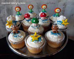 Mario type cupcakes