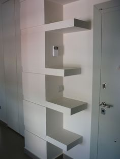 Entrance Shelving, Entrance, Projects, Home Decor, Shelves, Log Projects, Entryway, Blue Prints, Decoration Home