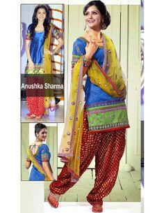 Wonderful Patiyala Salwar Item code : SLVA830