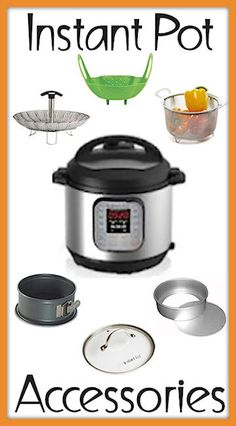 Instant Pot accessories for all your pressure cooking recipes Power Pressure Cooker, Electric Pressure Cooker, Instant Pot Pressure Cooker, Pressure Pot, Instant Cooker, Diet Food To Lose Weight, Weight Loss Meals, Cooker Recipes, Crockpot Recipes