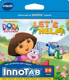 Kids' Personal Video Players - VTech InnoTab Software Dora The Explorer *** For more information, visit image link.