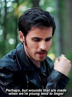 Captain Hook Killian Jones Colin O'Donoghue 4x6 Once Upon A Time If you take place like thanks Miriam