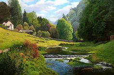 Lathkill Derbyshire, England by Michael James Smith