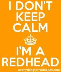 Redhead Quotes in pictures - Everything