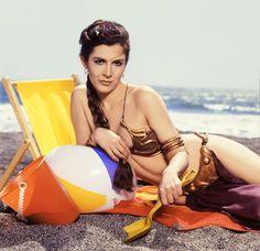約30年前、ダースベイダーたちとビーチで遊ぶビキニ姿のレイア姫 - DNA