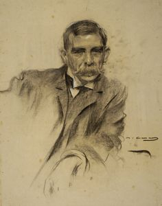 Portrait by Ramon Casas i Carbó