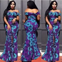 The Ankara styles 2019 of bolt authoritative is African-inspired clothing. It is one of the best adm Ankara Long Gown Styles, Trendy Ankara Styles, Ankara Gowns, Ankara Dress, Ankara Blouse, Latest African Fashion Dresses, African Dresses For Women, African Wear, African Women