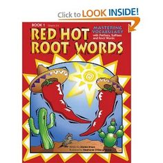 Red Hot Root Words, Book 1 (Red Hot Root Words): Dianne Draze: 9781593630379: Amazon.com: Books