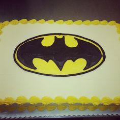 Batman cake cake by kelly rice