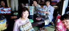 Yarn Alive turned to knitting & crocheting after the 2011 tsunami