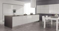 53 variantes pour les cuisines blanches! | Pinterest | Sol en marbre ...