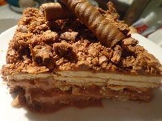 Greek Desserts, Party Desserts, Greek Recipes, Desert Recipes, Yogurt Cake, Icebox Cake, Cookbook Recipes, Candy Recipes, Sweets Recipes