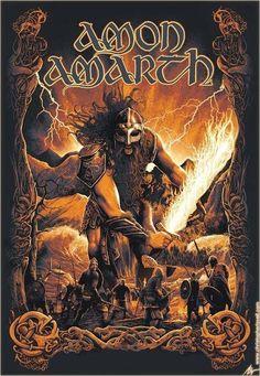 Amon Amarth m/ Viking Metal!!