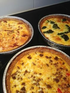 Lowcarb pies: recipe in swedish Best Paleo Recipes, Low Carb Recipes, Real Food Recipes, Cooking Recipes, Lchf, Quiche, Swedish Recipes, Daily Meals, Low Carb Diet