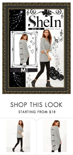 """SheIn contest"" by summer-marin ❤ liked on Polyvore featuring Music Notes and MCM"