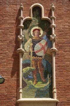 Sant Antoni Mª Claret, 167 (Hospital S. Pau) -BCN-  Més fotos al blog: dracs.cat