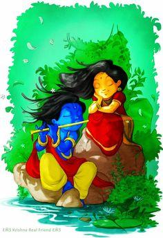 Radha-Krishna Lord Krishna Images, Radha Krishna Pictures, Radha Krishna Photo, Krishna Art, Radhe Krishna, Shree Krishna, Little Krishna, Baby Krishna, Cute Krishna
