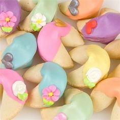 Dipped Fortune Cookies! (Great Idea!!!)