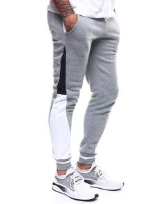 Find Panel colorblock Jogger Pant Men's Jeans & Pants from Buyers Picks & more at DrJays. on Drjays. Mens Workout Pants, Mens Joggers Sweatpants, Mens Jogger Pants, Sweatpants Outfit, Sport Pants, Sport Fashion, Mens Fashion, Mens Athletic Fashion, Track Pants Mens
