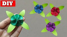 In this video, you'll learn How To Make Paper Flower Easy Step By Step.Many people want to know about How To Make Paper Flower That Easy To Make At Home. Paper Craft Work, Easy Paper Crafts, Paint Background, Diy Canvas, How To Make Paper, Christmas 2016, Painting For Kids, Craft Videos, Creative Inspiration